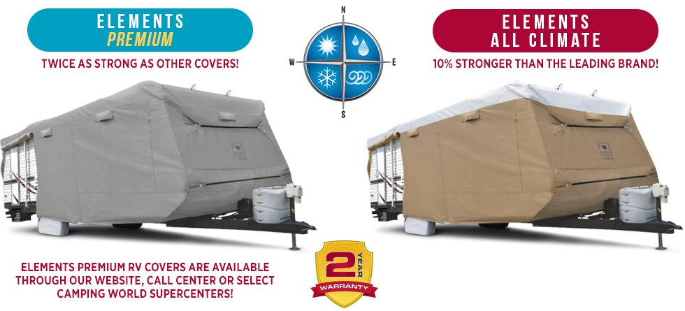 Compare Elements to the Leading Brand  sc 1 st  C&ing World & Elements Covers - Camping World
