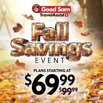 1 Year of Good Sam Travel Assistance- $69.99