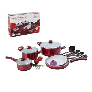 Camping cookware pressure cookers portable induction for Alpine cuisine ceramic cookware