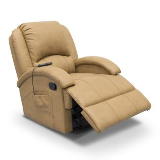 thomas payne collection heritage series swivel glider recliner oxford tan