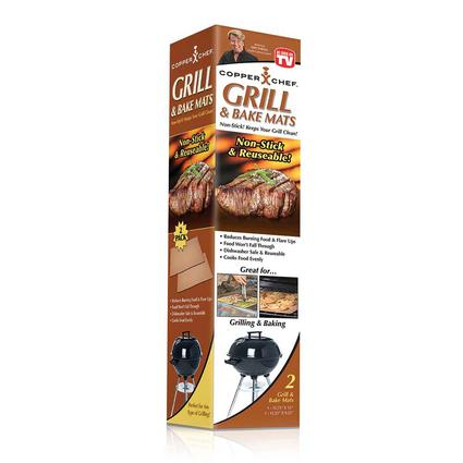 Copper Chef Grill Bake Mat, 2-pack