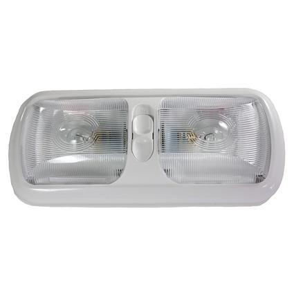 LED Euro Light Fixture, Double- Bright White