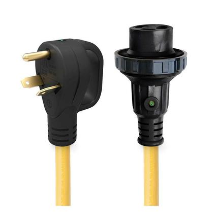 25 30 Amp Detachable Power Cord with Handle Indicator Light