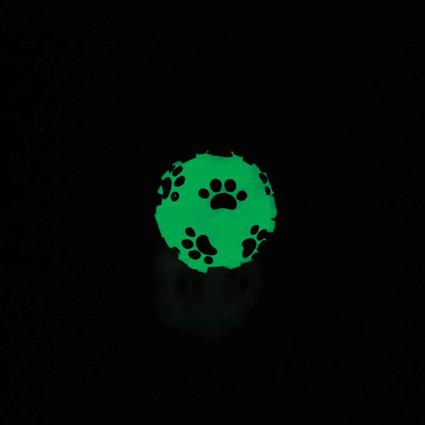Glow-in-the-Dark Dog Toy Ball