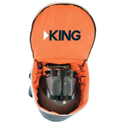 KING Portable Satellite TV Antenna Carry Bag