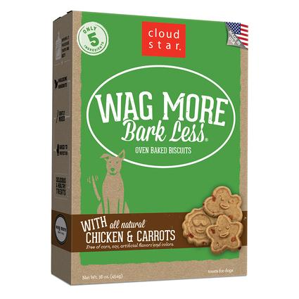 Wag More Chicken Carrots Oven Baked Biscuits, 16 oz.