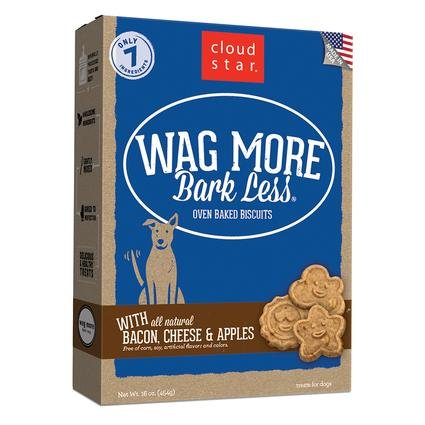 Wag More Bacon, Cheese Apples Oven Baked Biscuits, 16 oz.