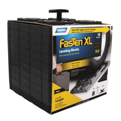 FasTen XL Leveling Blocks, Set of 10