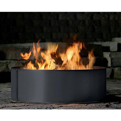 Solid 4 Piece Fire Ring, 48
