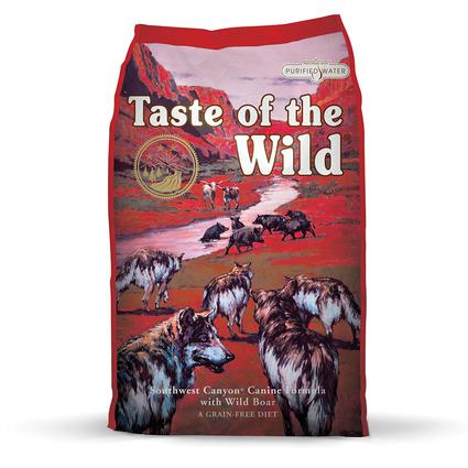 Taste of the Wild Southwest Canyon Canine Formula with Wild Boar, 28 lb. Bag