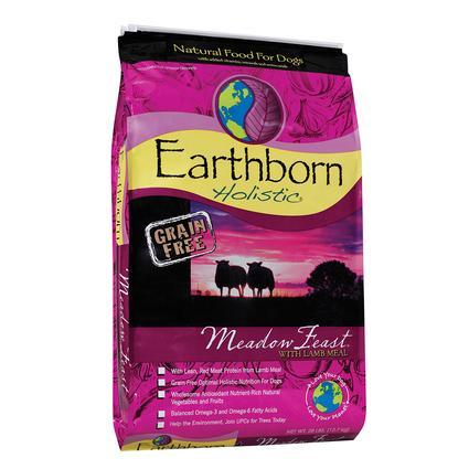 Earthborn Holistic Grain Free Meadow Feast Dog Food, 28 lb. Bag
