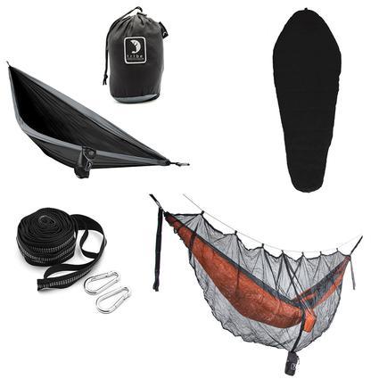 Tribe Provisions Adventure Hammock Kit, Black/Black