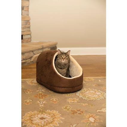 Brown Cuddler Pet Bed