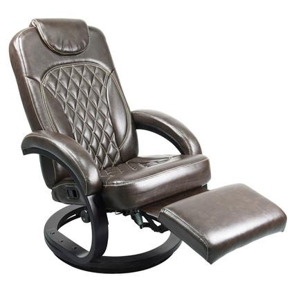Thomas Payne Collection Euro Recliner Chair, XL Euro Recliner Chair, Jaleco Espresso