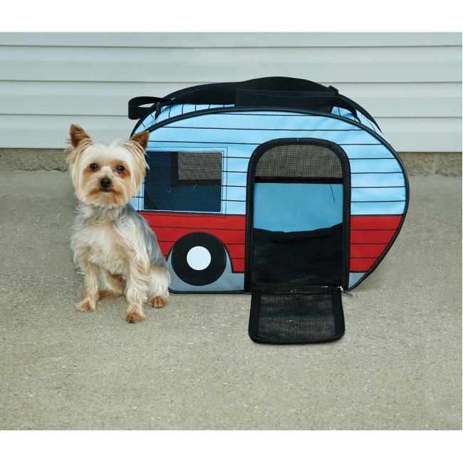 Retro RV Pet Carrier, Medium - Direcsource Ltd 100908 - Pet Carriers ...