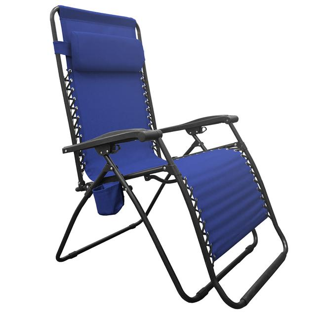 Image Infinity Big Boy Zero Gravity Chair Blue. To Enlarge the image click .  sc 1 st  C&ing World & Infinity Big Boy Zero Gravity Chair Blue - Caravan Canopy BGC01021 ...