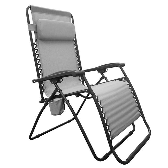 Infinity Big Boy Zero Gravity Chair Gray Caravan Canopy Bgc01121