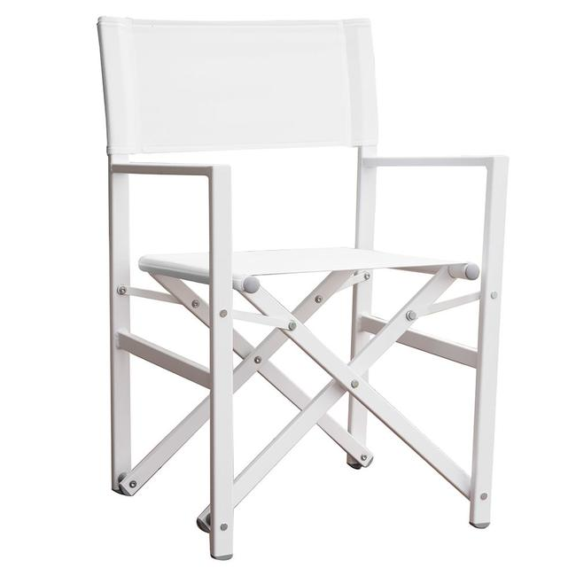 Image Studio Aluminum Folding Directoru0026aposs Chair, White. To Enlarge The  Image, Click Or .
