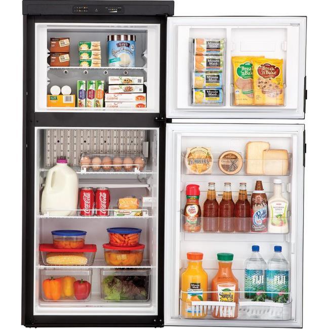 Dometic Americana RM2852 2-Way Refrigerator, Double Door, 8.0 Cu. Ft ...