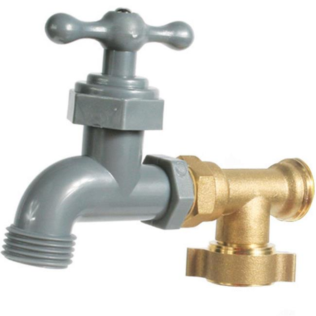 90 Degree Water Faucet - Camco 22463 - Faucets & Inlets - Camping World