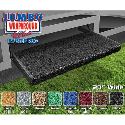 Prest-O-Fit Jumbo Wraparound Plus RV Step Rug, 23