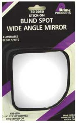 Wedge Stick-On Mirror