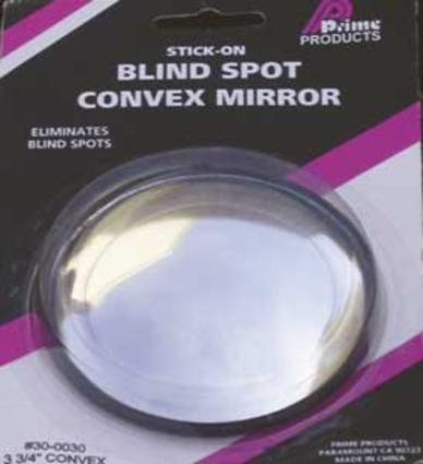 Round Stick-On Mirror