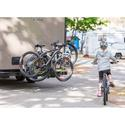 Around-the-Spare Bike Rack