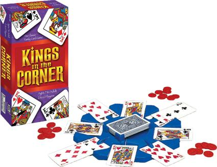 Kings in the Corner Card Game