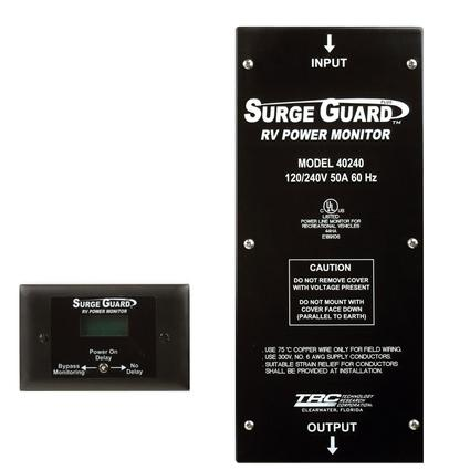 Surge Guard Plus 50 Amp Hard-Wired Power Monitor