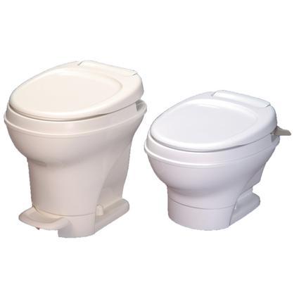 Aqua-Magic V Foot Flush Toilets
