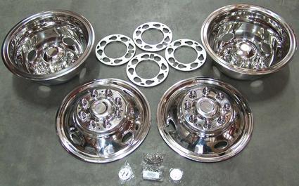 Namsco Wheeliners for Dual Wheels - Set of 4