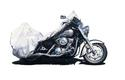 Silvertech Motorcycle Cover-Medium