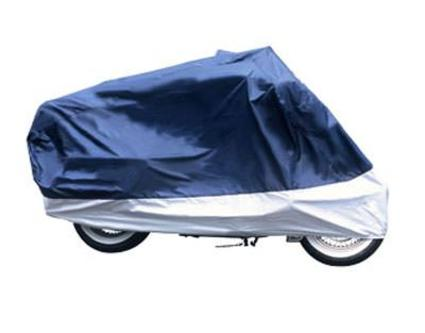 Superior Travel Motorcycle Cover-Half Bike w/windshield liner