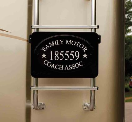 Frame-Rite Membership Plaque Holder, Front Mount