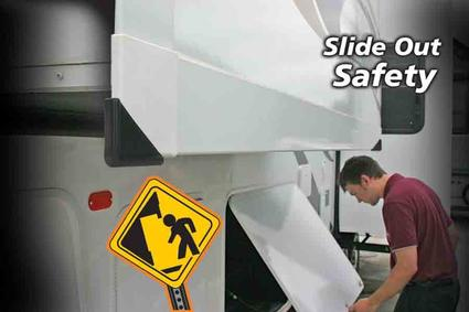 Slideout Corner Guards - White