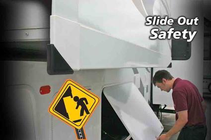Slideout Corner Guards - Black