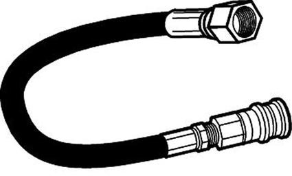 Big Buddy Heater 12' Propane Hose Assembly with Quick Disconnect