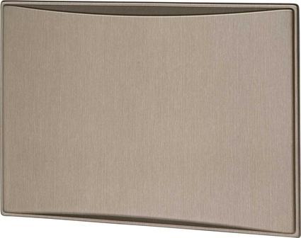 New Generation 7.0CF Refrigerator Door Panels, Contoured - Brushed Roman Bronze