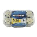 Rayovac D Batteries, 8-pack