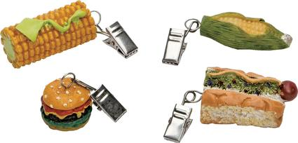 Corn Tablecloth Weights, 4 pack