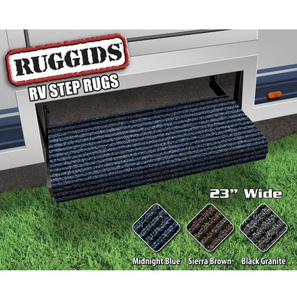 Ruggids RV Step Rug - Midnight Blue