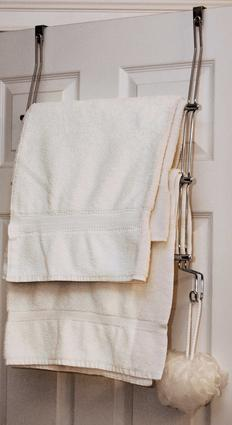 Over Door 3 Bar Towel Rack