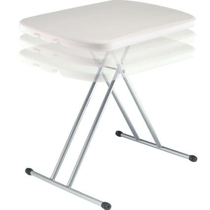 White Personal Table