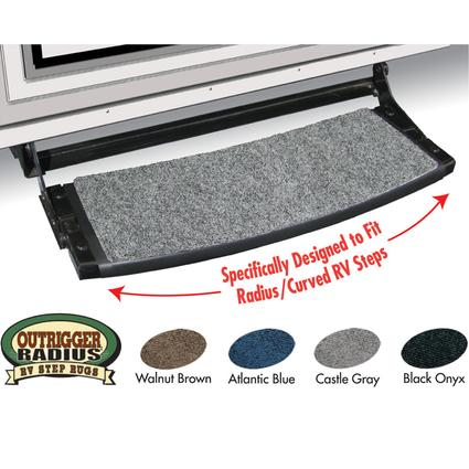 Outrigger Radius RV Step Rugs