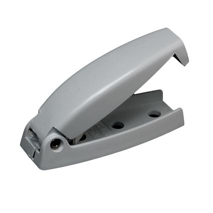 Rounded Baggage Door Catch - Gray