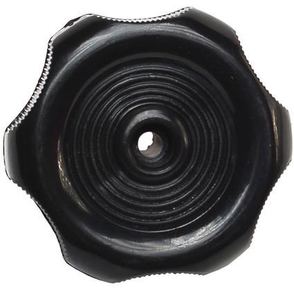 Black Window Knob - 1
