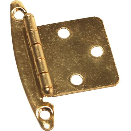 Free Swinging Hinge - Brass
