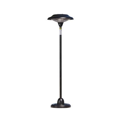 Fire Sense Halogen Patio Heater Bronze
