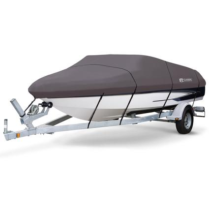 StormPro Boat Covers, Fits 22'-24' V-hull Boats with Beam Width to 116